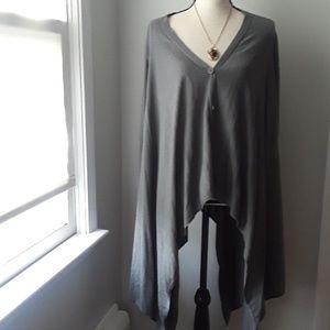 BCBG Maxazria drappy sweater